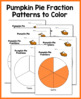 Comparing Fractions Activity: Pumpkin Pie Fraction Mix Up (3rd and 4th Grade)