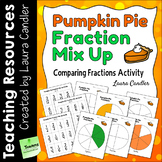 Comparing Fractions Activity: Pumpkin Pie Fraction Mix Up