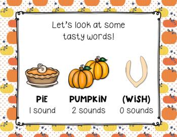 Pumpkin Pie Rhythms,Thanksgiving PreReading Rhythms (Kodaly Prep ta/ti-ti/rest)