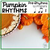 Pumpkin Pie Rhythms,Thanksgiving PreReading Rhythms (Kodal