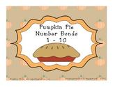Pumpkin Pie Number Bonds 1 - 10