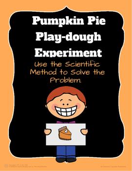 Pumpkin Pie Play-Dough Experiment!