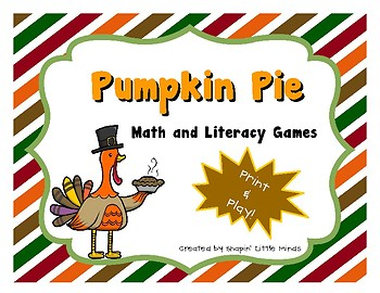 Pumpkin Pie - Print & Play