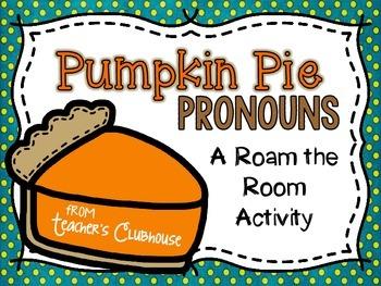 Pumpkin Pie Pronouns