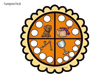 Pumpkin Pie Spelling Game