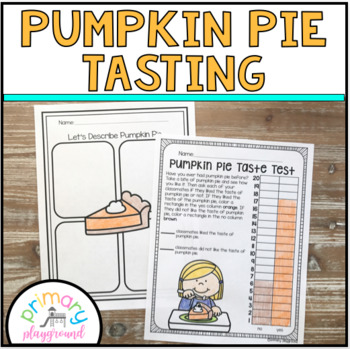 Pumpkin Pie Taste Test