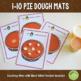 Pumpkin Pie Thanksgiving Counting Playdough Mats