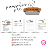 Pumpkin Pie in a Bag Activity
