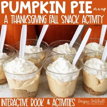 Pumpkin Pie in a Cup...A Fun Learning Treat!