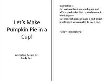 Pumpkin Pie in a Cup Adapted Recipe