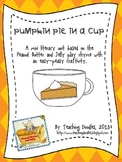 Fall Pumpkin Pie Recipe Writing and Craftivity