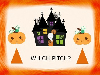 Pumpkin Pitch Matching