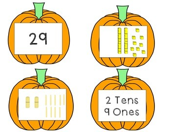 Pumpkin Place Value