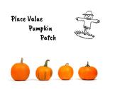 Pumpkin Place Value Creativity