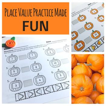 Halloween Place Value Pumpkins