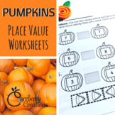 Place Value Worksheet Pack: Pumpkins