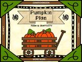 Pumpkin Plan: Poem with Fluency, Comprehension, Word Work, and Craft Activities