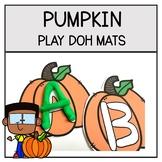 Fall Pumpkin Letters | Pumpkin Play Doh Mats