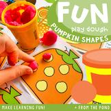Pumpkin Play Doh Mats for Fine Motor Fun