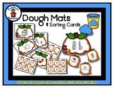 Pumpkin - Play Dough Manipulative Mats - Alphabet Numbers