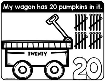 Pumpkin Playdough Mats - Counting 1-20 - Preschool, PreK, Kindergarten, Pre-K