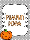 Pumpkin Poem