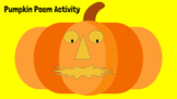 Pumpkin Poem Activity