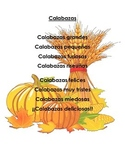 Pumpkin Poem/ Calabazas Poem