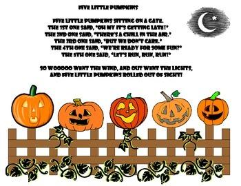 Pumpkin Poem Posters
