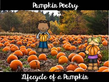 Pumpkin Poem and Activity Pack