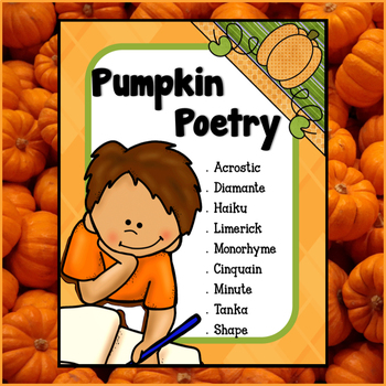 Pumpkin Poetry - Fall Creative Writing (PRINT & GO)