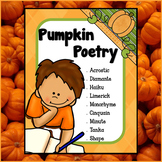 Pumpkin Poetry - Fall Creative Writing (PRINT & GO)