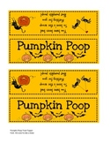 Pumpkin Poop Treat Topper