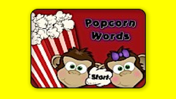 Pumpkin Popcorn Words SPLAT! Game