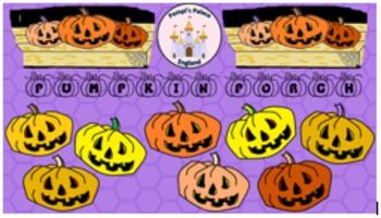 Pumpkin Porch Halloween Clip Art Freebie