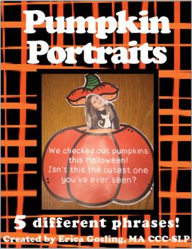 Pumpkin Portraits - A FREE Halloween Craftivity!