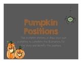 Pumpkin Positions