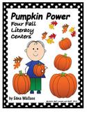 Pumpkin Power:  Four Fall Literacy Centers