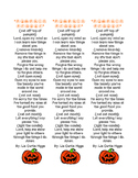 Pumpkin Prayer