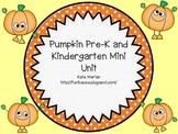 Pumpkin Pre-K and Kindergarten Mini Unit