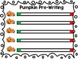 Pumpkin Pre-Writing