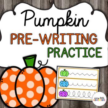 Pumpkin Pre-Writing Practice