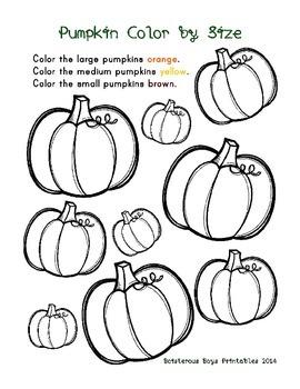 Pumpkin PreK Printable Learning Pack