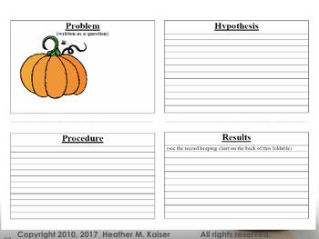 Pumpkin Investigation - Making Predictions, Comparing Results