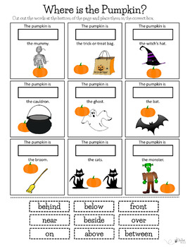Pumpkin Prepositions