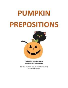 Pumpkin Prepositions