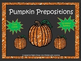 Prepositions {Pumpkin Theme}