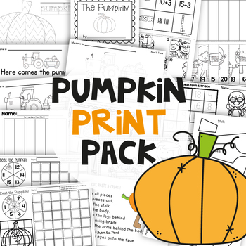 Fall Activities: Pumpkin Print Pack