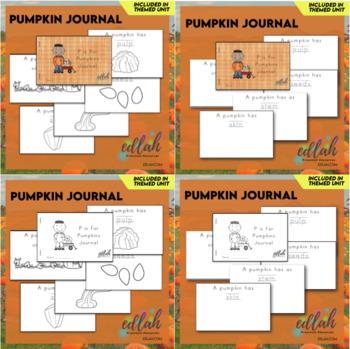 Pumpkin Printable Journal