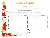 Pumpkin Problem Solving